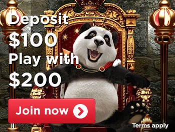 deposit 100 play with 200 usd